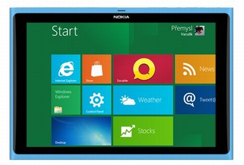 Nokia Windows 8 Tablet Design Resembles the N9 Phone