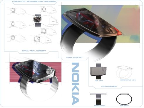 Nokia Smart Watch Concept Looks Interesting