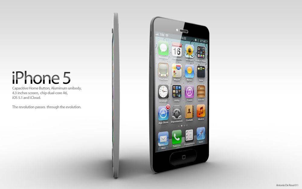 First iPhone 5 Concept After the Launch of iPhone 4S Appears