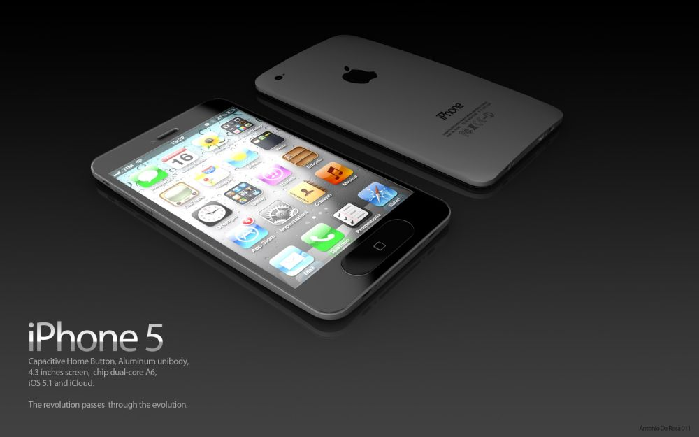 iPhone5 concept ADR Studio 5 iPhone 5