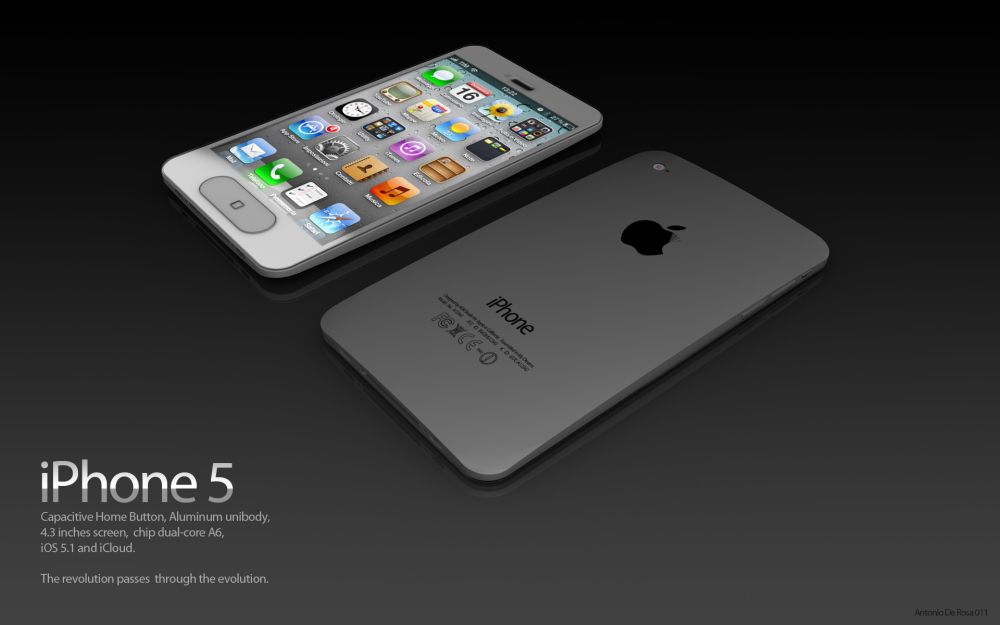 iPhone5 concept ADR Studio 6 iPhone 5