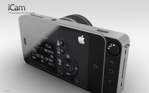 Apple iCam Camera Concept Would Kill All Nikon, Canon and Lumix Lovers