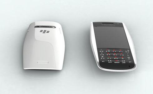 BlackBerry Urraco concept créé par ChauhanStudio devait Enregistrer RIM