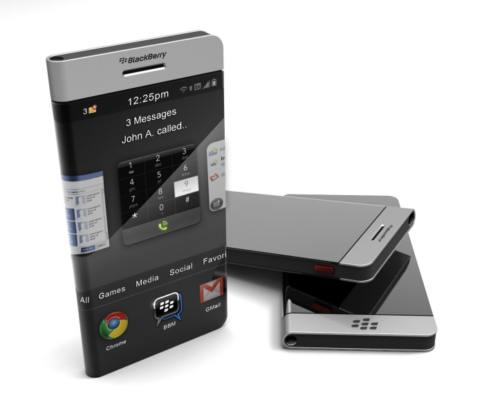 2012 BlackBerry Concept Features a Wraparound Display
