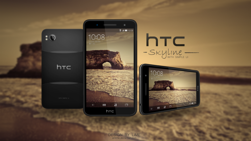 HTC Skyline Concept Runs Android 4.0 Ice Cream Sandwich With Simple UI
