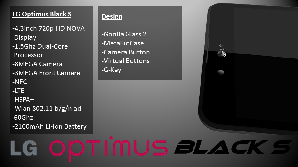 LG Optimus Black S   Upgrade of One of the Most Interesting Single Core Units From 2011