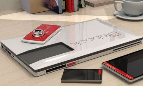 Fujitsu Laptop Concept Is Also a Camera, a Phone, a Tablet