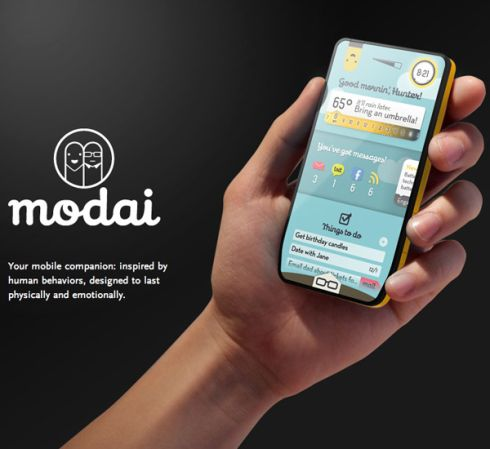 Modai Modular Phone concept Means That Your Phone Never Ages