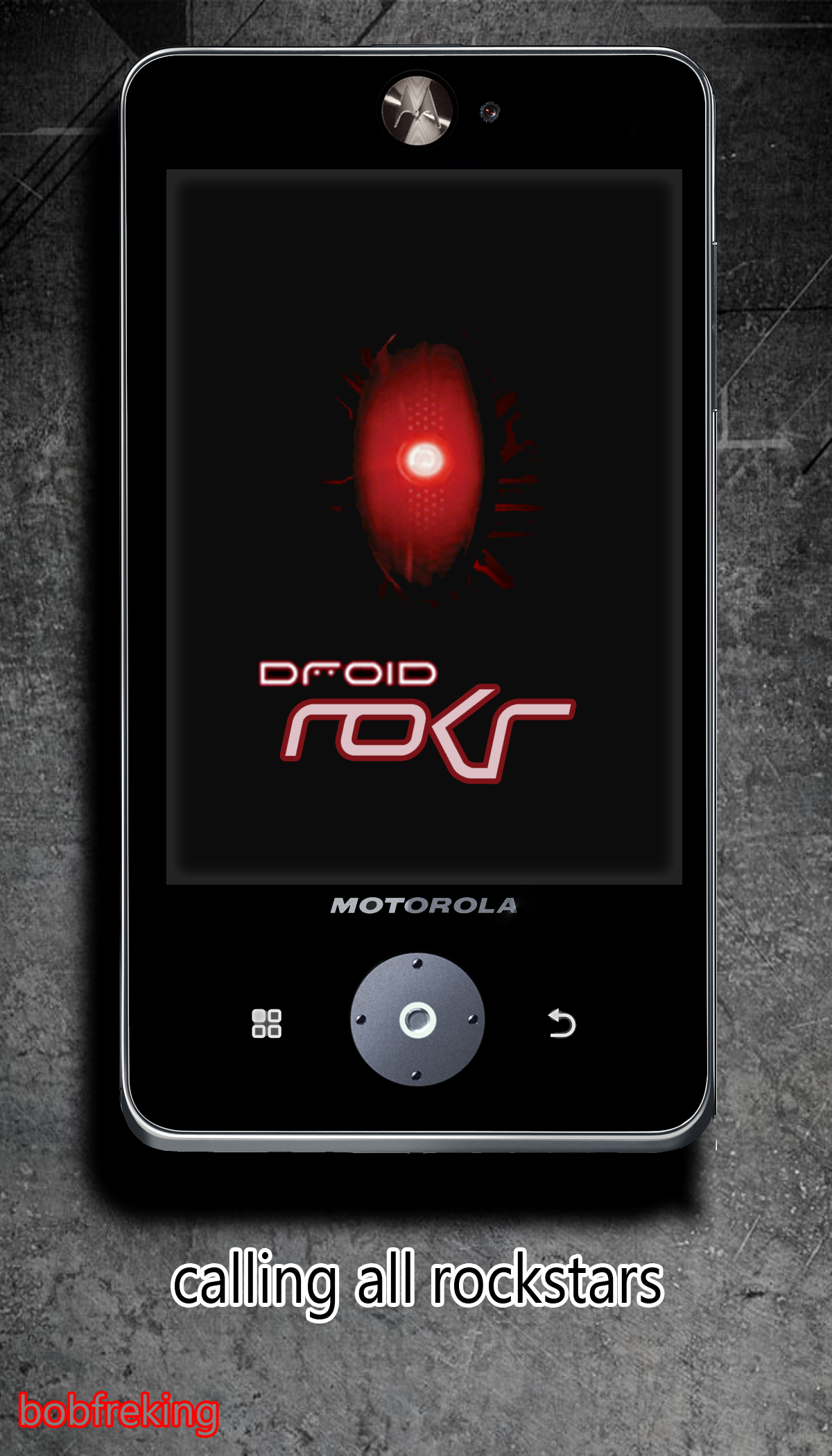 Motorola Droid ROKR Concept, an 128GB Phone for Music Lovers