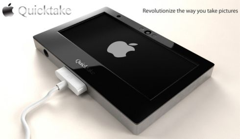 Apple QuickTake Concept Camera Take 32 Megapixel Shots, 1080p Videos