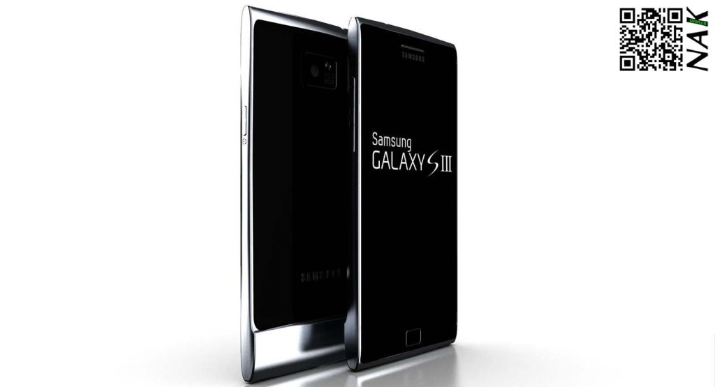 Samsung Galaxy S3 Fresh Design From Antoine Brieux/NAK Studio