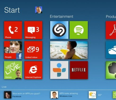 Windows Phone 8 Design Ideas and an xPhone to Suit Them