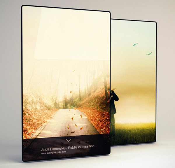 The Four Concept Tablet Has an Edge to Edge Display, Can be Used as Digital Painting