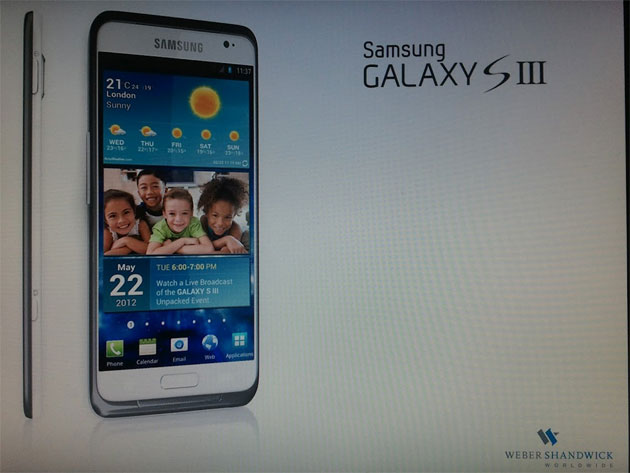 Bunch of New Samsung Galaxy S III Renders + Supposed Press Image and Launch Date