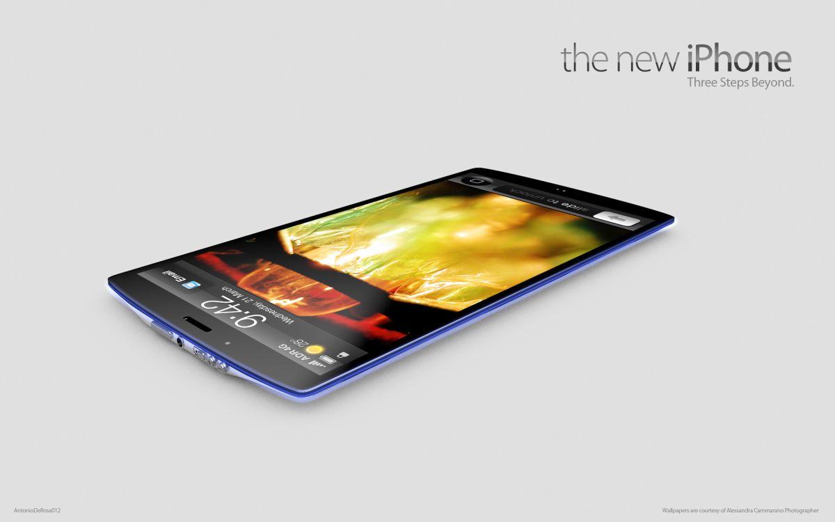 iPhone الجديد تخيلية لشكل الايفون