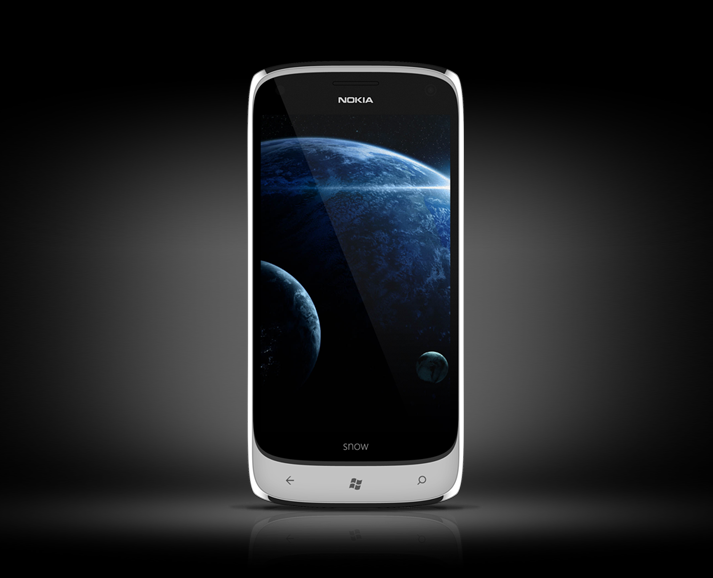 nokia snow 4 inch phone features