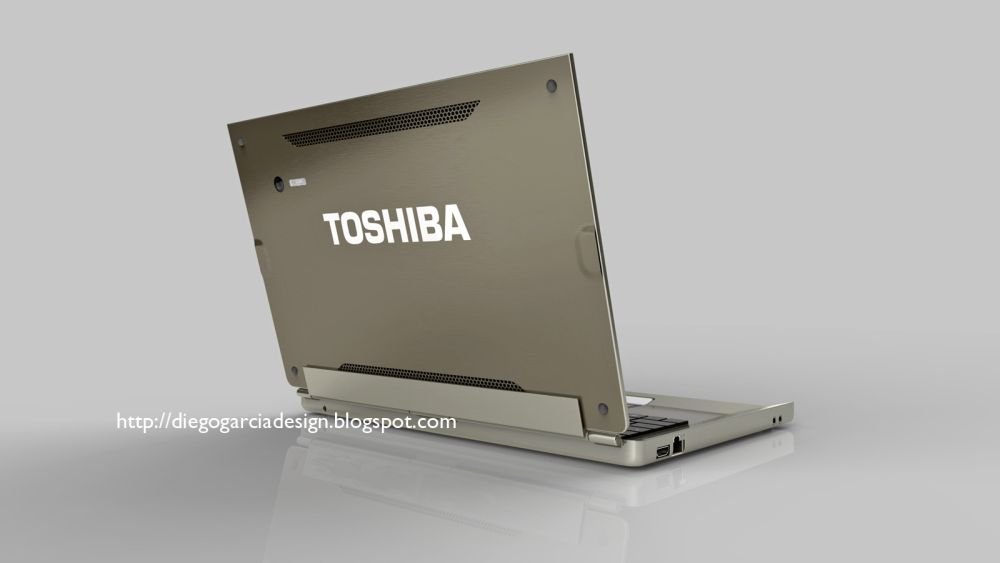 Toshiba Tablet With Wacom Technology, Keyboard Dock and Windows 8   Very Nice Render