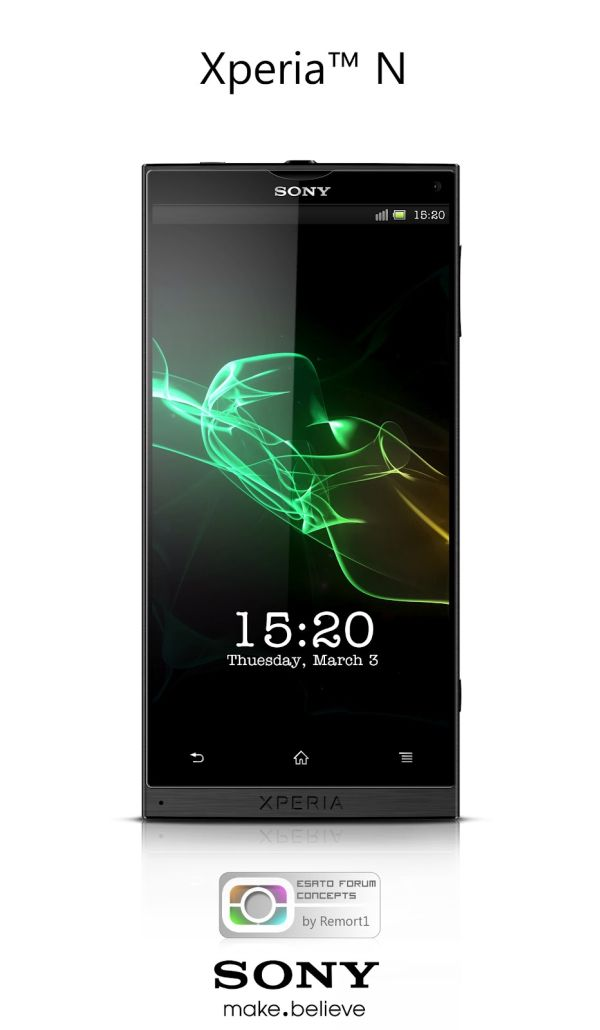���� �� SONY �����: Xperia N Concept