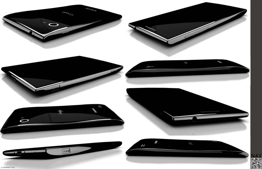 Galaxy Nexus Black S Concept, the Future Google Flagship