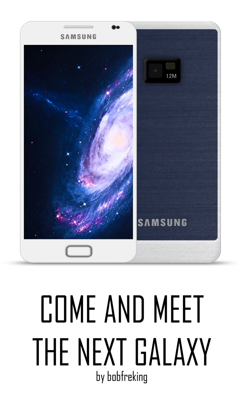Samsung Galaxy S III Render by Bob Freking, Possibly the Very Last One
