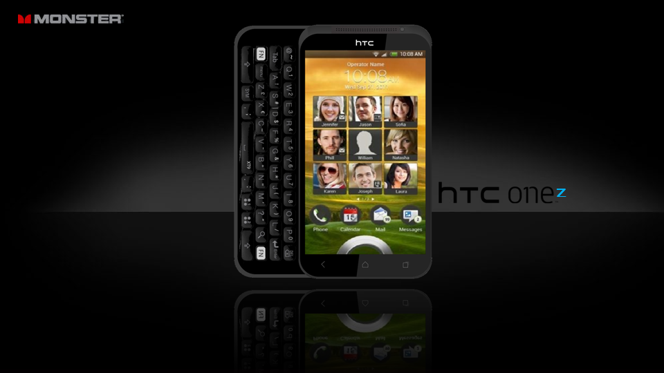 HTC One Z   Return of the Sliding Keyboard!