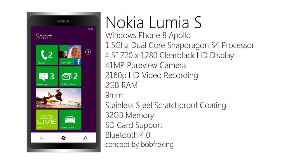 Nokia Lumia S