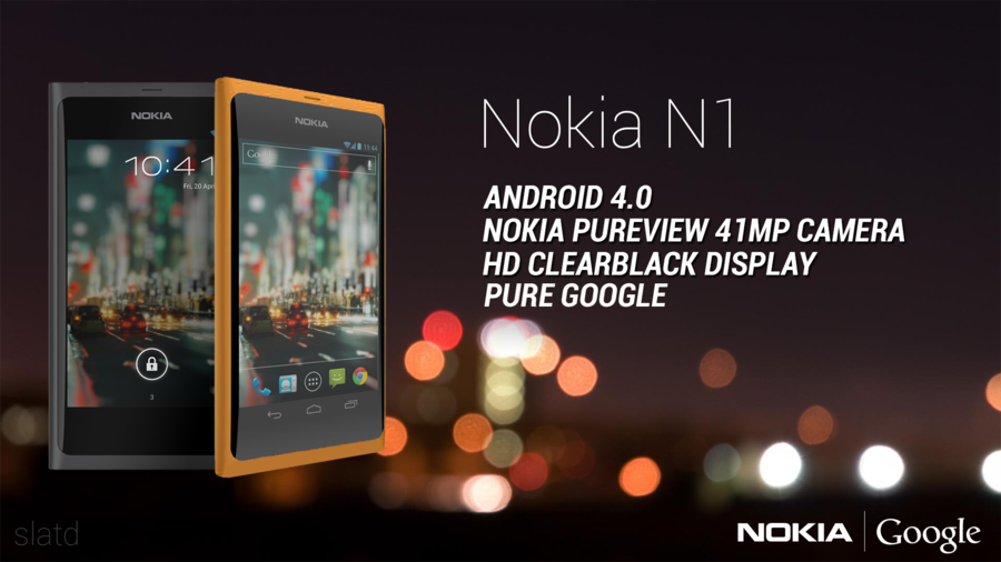 Nokia N1 Runs Android 4.0, Features PureView 41MP Camera