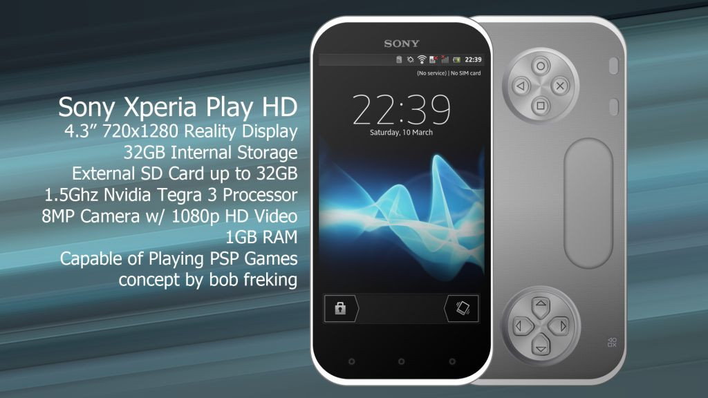 Sony Xperia Play HD Uses Tegra 3 CPU, 720p Screen