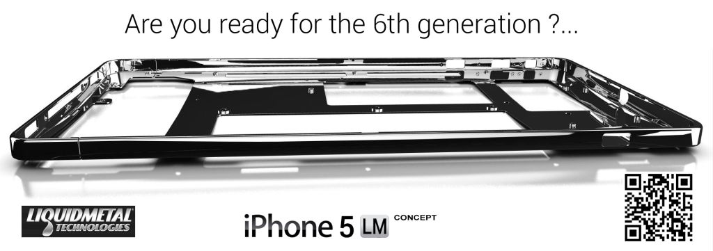 Sixth Generation iPhone Liquidmetal Concept Looks Straight Out of a Terminator Movie