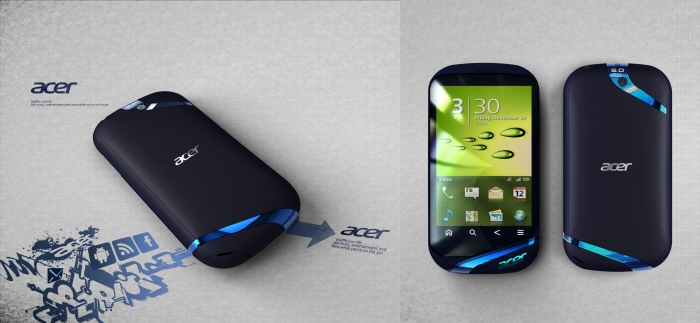 Acer Phone Concept Looks Beautiful, Created by Dan Hsu