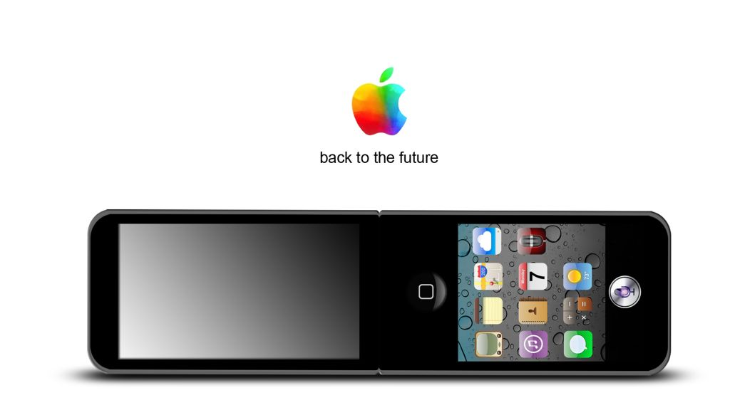 0878c9ad5adeaf Apple Flip Phone iFlip Will Probably Remain a Design Forever ...