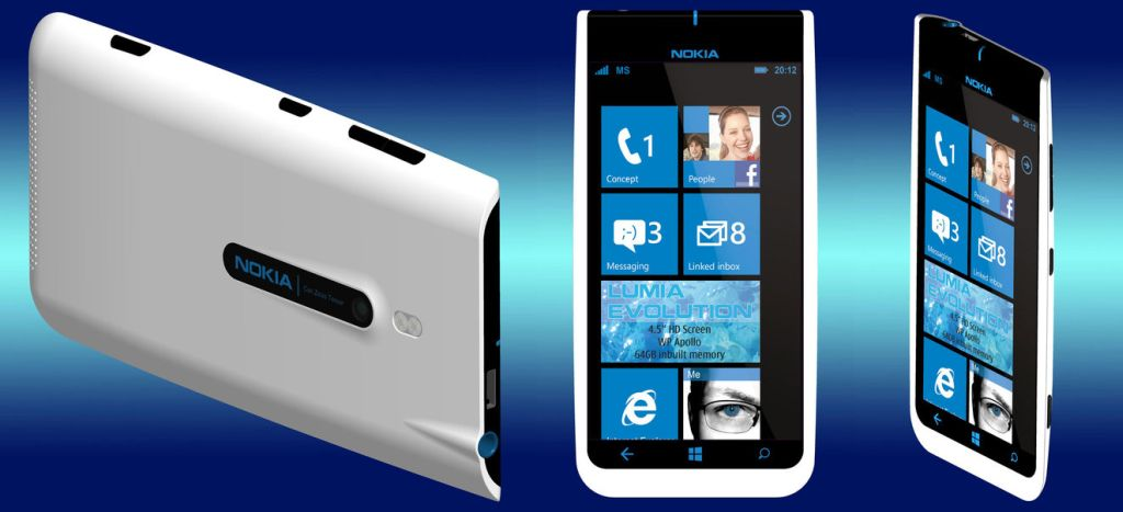 Nokia Lumia Evolution Runs Windows Phone Apollo, Looks Pretty