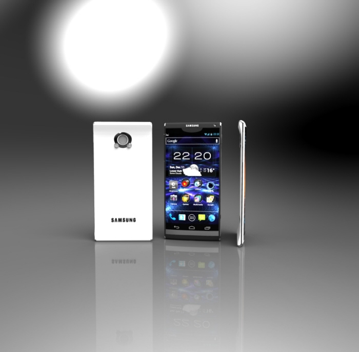 Samsung Smartphone Concept Has Some Xperia and HTC One In It