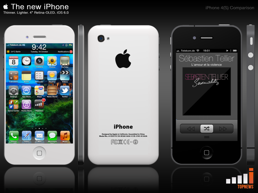 The New iPhone, Envisioned by iTopnews.de