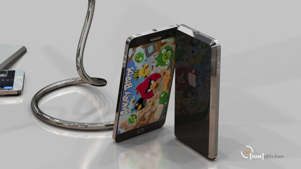 iPhone 5 Design Created by [FUSE]Chicken Has Quad Speakers