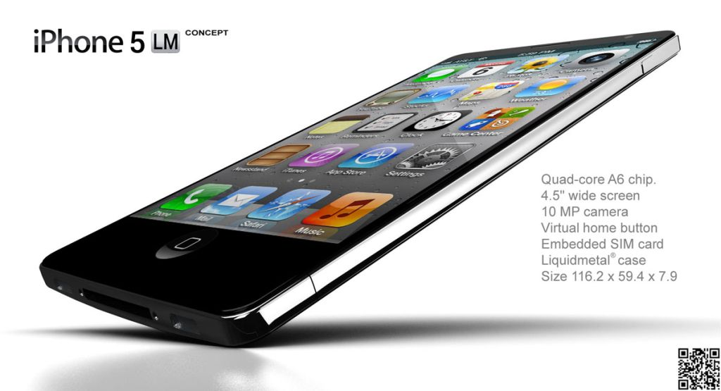 iPhone 6th Generation is a Liquidmetal Quad core Device