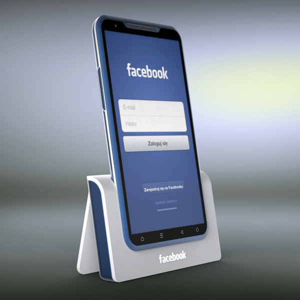 Beautiful Facebook Phone Mockup Gets a Big Like From Us