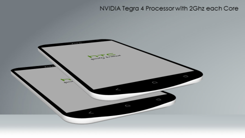 HTC One H Nvidia Tegra 4 Phone Has a 1080p Display