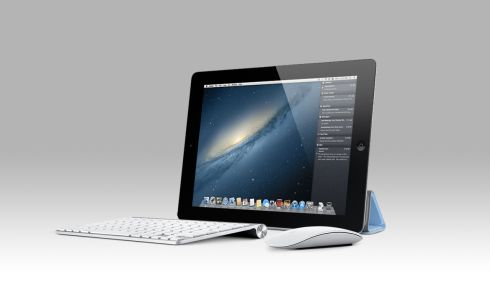 iPad With Magic Mouse and OS X, a Microsoft Surface Tablet Rival