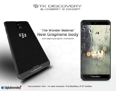 BlackBerry TK Discovery 3.0 Concept Runs BlackBerry OS 10 on Quad Core CPU