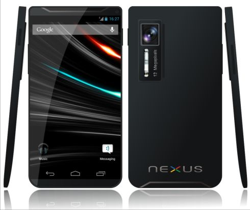 The Next Galaxy Nexus (Nexus 2?) Mockup Created by Killu Chan