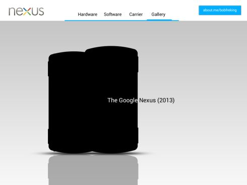 The Google Nexus 2013 Phone by Bob Freking