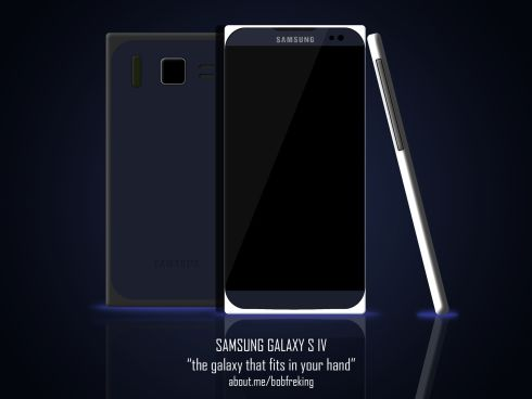 "Samsung Galaxy S IV – ""The Galaxy That Fits in Your Hand"" by Bob"