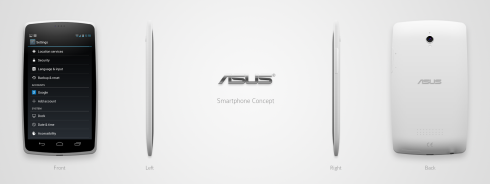 ASUS Smartphone Concept is Both Fat and Phat