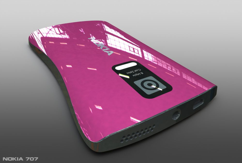 Nokia 707 Concept Looks Like Number 8