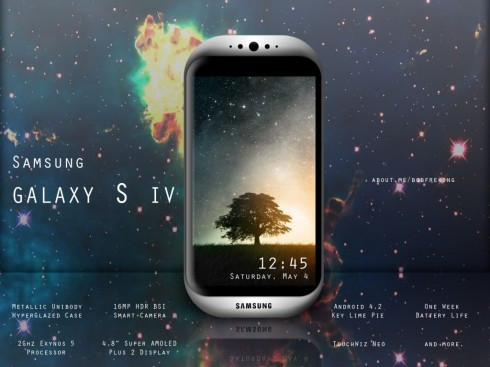 Samsung Galaxy S IV Is The Answer to the iPhone 5: One Week of Battery Life!
