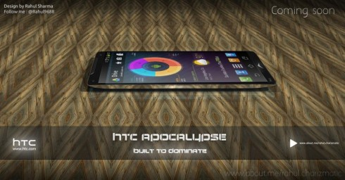 HTC Apocalypse Android Key Lime Pie Phone With AMD Quad Core CPU Created by Indian Designer!