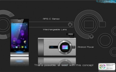 Finalized Sony Xperia NX Now Codenamed Yuuko, Looks Like a Futuristic Metallic Camera