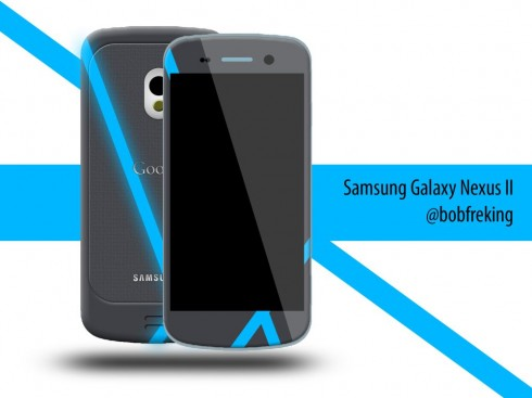 Samsung Galaxy Nexus II, Designed By Bob Freking, Inspired by Holo and Nexus Q
