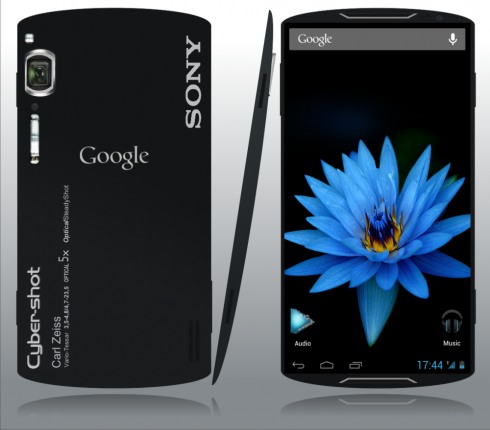 Sony Xperia Nexus by Killu Chan, a New 5.5 Inch Phablet with 4 GB Of RAM